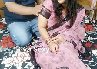 Desi village bhabi fucking with husband friend