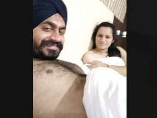 Punjabi couple in hotel with punjabi audio