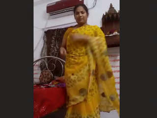 Mallu Desi Aunty On Video Call 1