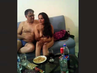 Desi Randi Nude With Client In Hotel