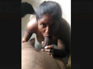 Sexy Tamil Maid Sucking House Owner Dick