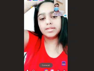 Sexy Desi Girl Showing Her Big Boobs and Pussy On Video Call