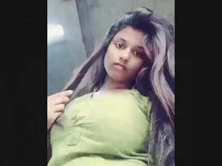 Bangladeshi Beautiful Cute Girl Exposing Her Sexy Figure