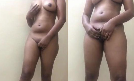Sexy Indian girl shows her full naked body and masturbating