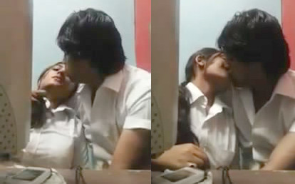 Dhaka College couples romance in cabin