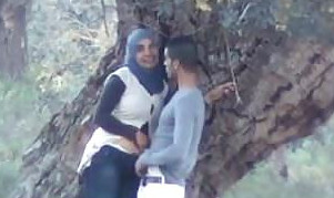 Desi hot couple sex in the park