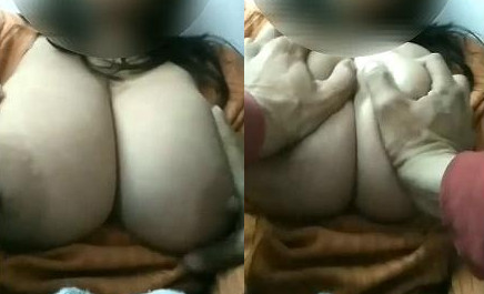 Indian Bhabhi Boobs Pressing By Hubby