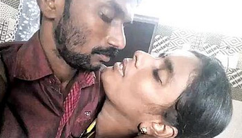Desi Couple Romance & Kissing