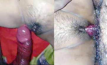 Desi bhabhi hard fucking with pink condom cover dick with loud moaning