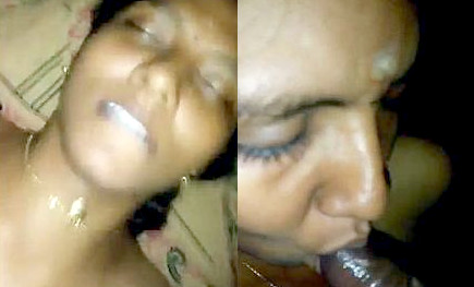 Desi village wife sucking and fucking