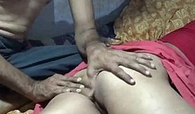 Desi sleeping wife hard fucking by hubby with sound