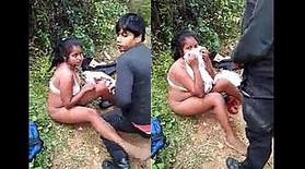 Desi Couple Caught in Jungle