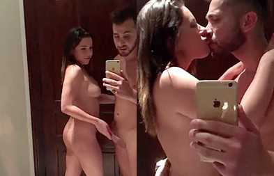 Maroc Couple Blowjob N Kissing Selfie