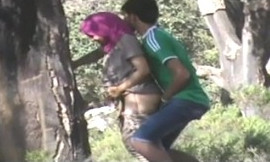 Desi College LOvers quikie doggy fuck outdoor