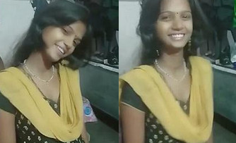 Desi Girl deep neck Churidar, Kiss posture and Lil Cleavage,Unseen