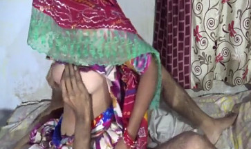 Desi shy wife sucking and fucking on the husband riding on with Clear Hindi Audio and