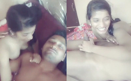 Cute Indian Desi Lover Romance Gf give Nyc Blowjob