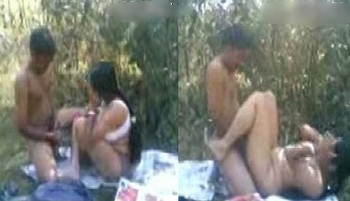 Fresh Indian outdoor sex