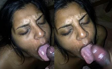 Indian Whore Loves Cum