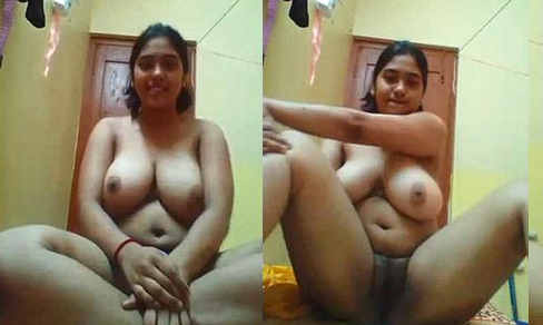Huge boobed desi girl selfi for BF