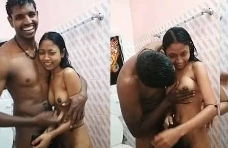 Cute Indian Lover After Bath