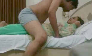 Unsatisfied bhabhi with young cousin moaning says
