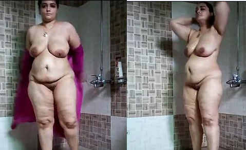 Indo-Serbian Sexy Queen Morning Shower In The Hot Summer & Rainy Season