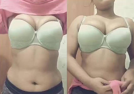 Hot figured Bengali boudi records for hubby.