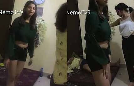 Drunk Girls Bachelor Night Fun – Hostel Leak