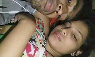 Cute Indian Lover kissing And Boob Sucking