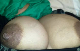 desi hijabi wife huge boobs played