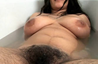 Super Hairy Desi Pornstar