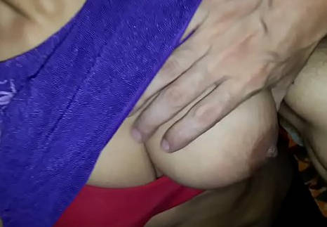 Indian guy boobs press
