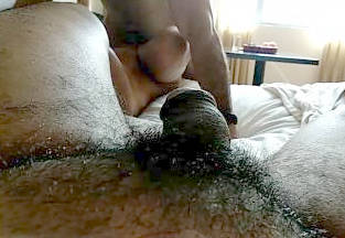 hubby lays and records wifey fucked