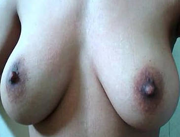 desi bhabhi self shot boob press