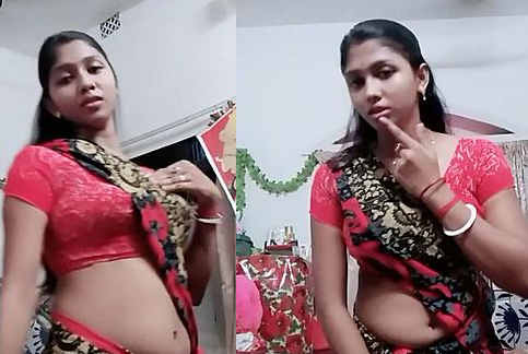 Desi hot housewife bhabhi princess rakhi chubby navel dance