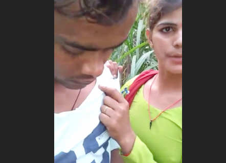 Desi lover outdoor caught