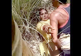 Desi village lover outdoor caught