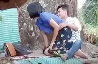 Mayanmar lover outdoor fucking