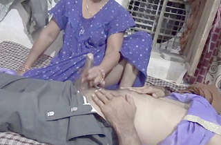 Desi village bhabi fucking with husband best friend
