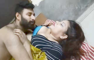 Desi aunty romance with husband best friend Part-1