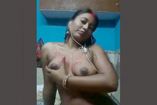 Desi Married Bhabhi Nude Selfies Part-2