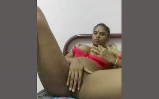 Horny Indian Hot Wife Play With Her Boobs And Pussy