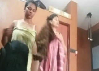 Hyderabad PG Girls Room Dress Change Leaked