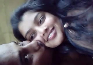 Desi Girl Giving kissing & blowjob to Lover