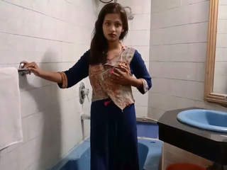 Desi Gf in bathroom bf recorded whole story