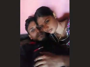 Desi Bhabhi with young guy