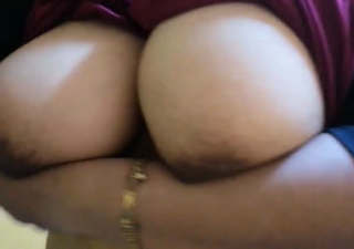 Very horny booby bhabhi playing with her