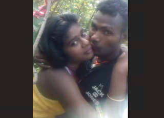 Desi couple in jungle 2 clips part 1