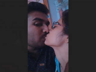 Desi Lover Kissing And Romance